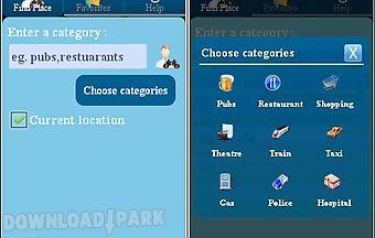 Place finder app