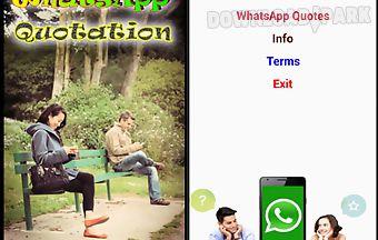 Whatsapp inspiration quotation