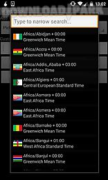 world clock for travel