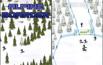 Alpine boarder