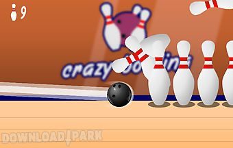 Crazy bowling ball