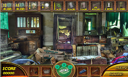 free hidden object games - empty house