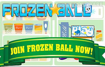 Frozen ball fall very fun physic..
