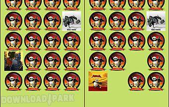 Kung fu panda memory game free