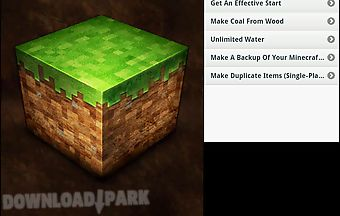 Minecraft cheats app