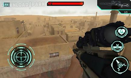 sandstorm sniper: hero kill strike