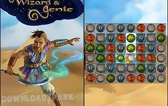 Wizard and genie: match 3 stars