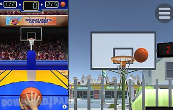 Basketball hoops app
