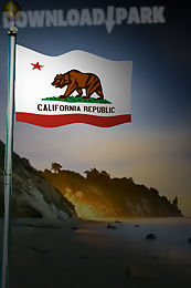 california flag live wallpaper