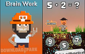 Gold miner: brain work