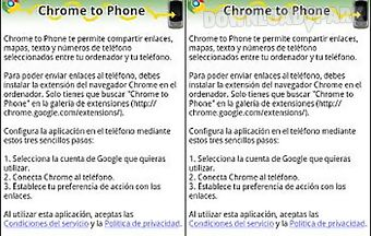 Google chrome to phone guide