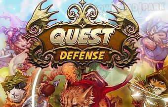 Quest defense: tower defense