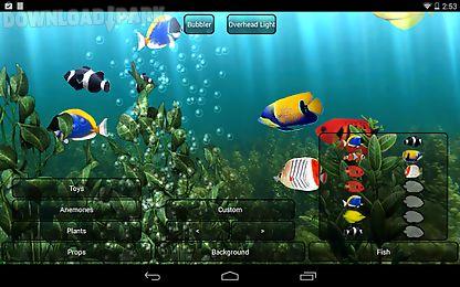 Aquarium Free Live Wallpaper Android Animiert Hintergrundbild Kostenlose Herunterladen In Apk