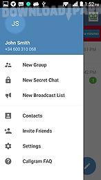 callgram messaging with calls