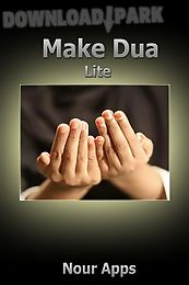 make dua lite - dua with audio