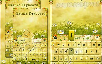 Nature go keyboard theme