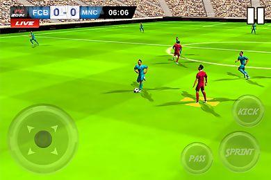 play football match soccer