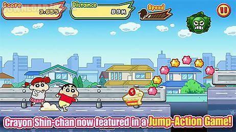 crayon shin-chan: storm called! flaming kasukabe runner!!