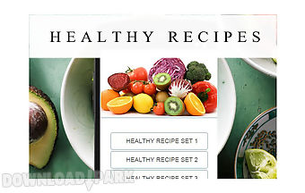 Healthy recipes food