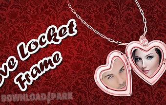 Love locket frame