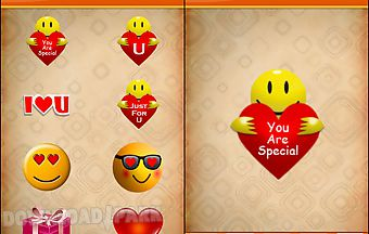 Love sticker for valentine day