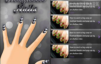 Magnetic nail designs free