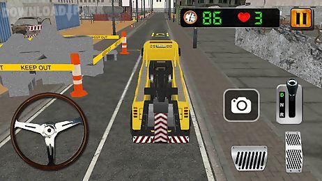 crane parking simulator 3d
