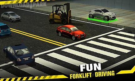 forklift crash madness 3d