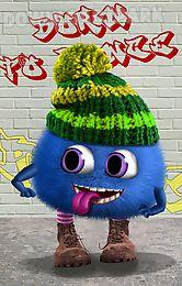 talking fluffy ball