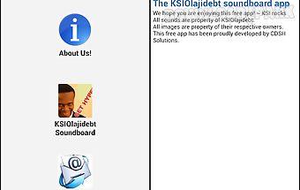 The ksiolajidebt soundboard