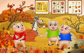 Three little pigs for kids 3+