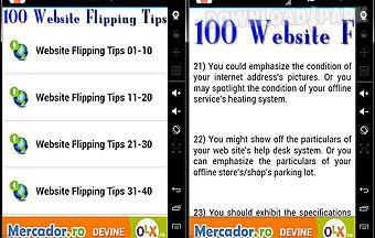 100 website flipping tips 2014