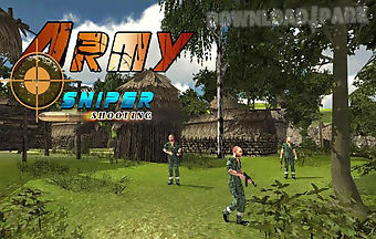Army commando: sniper shooting 3..
