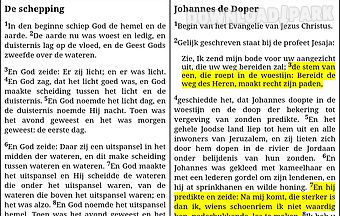 De bijbel - dutch holy bible