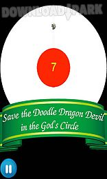doodle dragon devil - a new circle flappy god