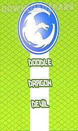 doodle dragon devil - a new circle flappy god