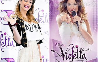 Easy violetta wallpaper puzzle