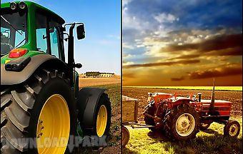 Farm tractor 3d