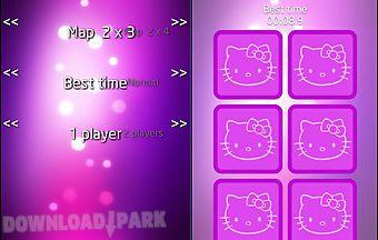 Hello kitty memory classic game