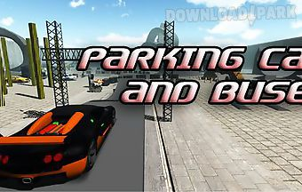 Parking car and buses