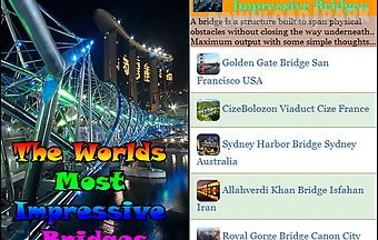 The worlds most impressive bridg..