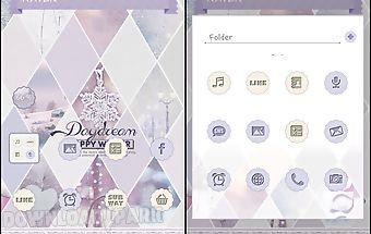 Daydream5 dodol launcher theme