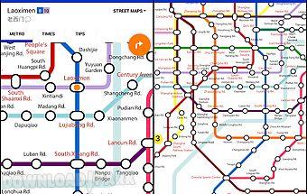 Explore shanghai metro map