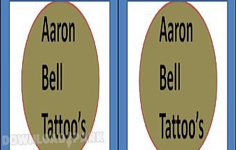 Aaron bell tattoos