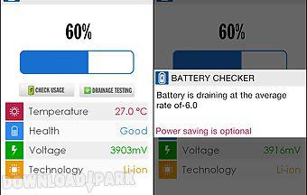 Battery checking
