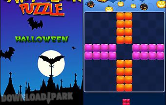 Candy block puzzle: halloween