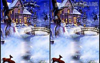 Christmas snowfall live wallpape..