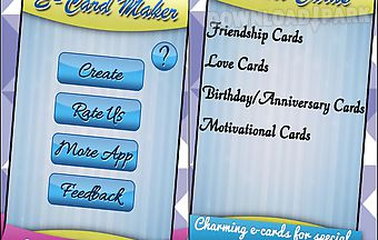 Ecards greeting cards maker