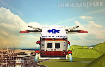 Flying ambulance 3d simulator