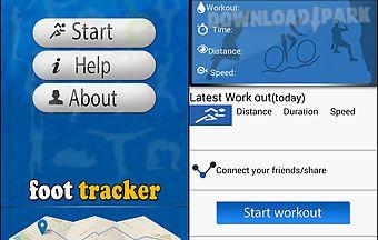 Foot tracker